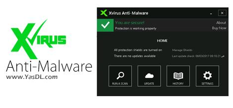 دانلود Xvirus Anti-Malware 7.0.2 - محافظت از سیستم در برابر ابزارهای مخرب