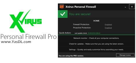 دانلود Xvirus Personal Firewall Pro 4.5.0 - فایروال قدرتمند