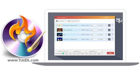 دانلود Aiseesoft Burnova 1.0.10 + Portable - نرم افزار رایت دیسک های DVD و بلوری