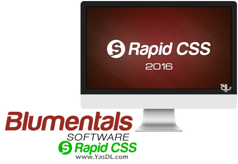 دانلود Blumentals Rapid CSS 2016 14.3.0.187 - استایل بندی و ویرایش کدهای CSS