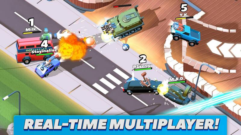 Crash Of Cars 1.4.00 For Android + Infinity Edition