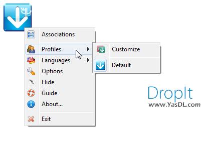 دانلود DropIt 8.3 + Portable - نرم افزار مرتب سازی فایل ها و فولدرها