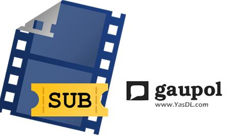 دانلود Gaupol 1.2 + Portable - نرم افزار ویرایش زیرنویس فیلم ها