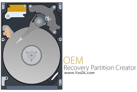 دانلود OEM Recovery Partition Creator 4.0.7 - ساخت پارتیشن بازیابی برای ویندوز