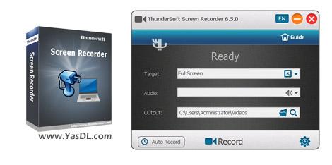 دانلود ThunderSoft Screen Recorder 6.5.0 - فیلمبرداری از صفحه نمایش