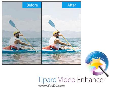 دانلود Tipard Video Enhancer 9.2.12 + Portable - نرم افزار بهینه سازی فایل های ویدیویی