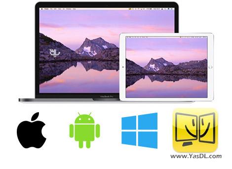 دانلود iDisplay 4.2.3 - تبدیل گوشی اندروید به نمایشگر کامپیوتر