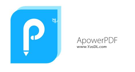 دانلود Apowersoft ApowerPDF 3.0.8 - نرم افزار ویرایش اسناد PDF