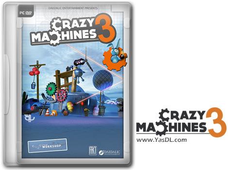 دانلود بازی Crazy Machines 3 Lost Experiments برای PC