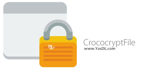 دانلود CrococryptFile 1.6 - نرم افزار رمزگذاری فایل ها