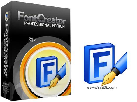 دانلود High-Logic FontCreator Pro 11.0.0.2365 + Portable - نرم افزار ساخت فونت