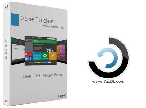 دانلود Genie Timeline Pro 2017 8.0.1.100 - پشتیبان گیری خودکار از اطلاعات