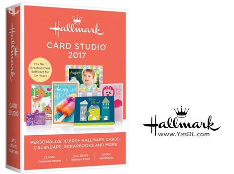 دانلود Hallmark Card Studio 2017 18.0.0.16 + Portable - طراحی کارت تبریک