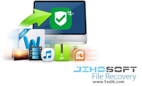 دانلود Jihosoft File Recovery 8.0.9 - نرم افزار بازیابی اطلاعات حذف شده