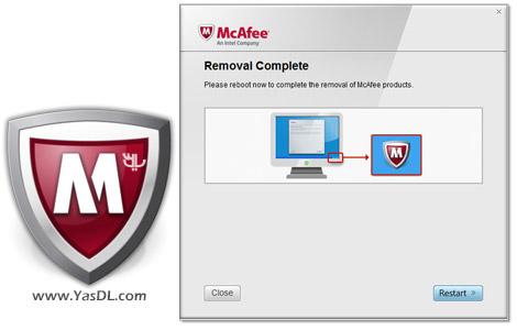 دانلود McAfee Consumer Product Removal Tool 10.0.107.0 - حذف محصولات مکآفی