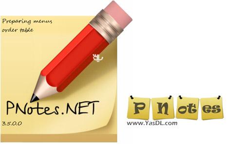 دانلود PNotes.NET 3.5.0.0 + Portable - قرار دادن یادداشت های چسبان در دسکتاپ