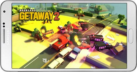 دانلود بازی Reckless Getaway 2 1.6.7 - تعقیب و گریز 2 برای اندروید + پول بی نهایت