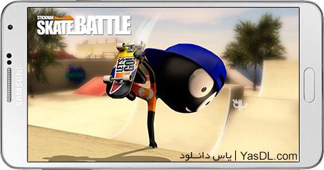دانلود Stickman Skate Battle 1.0.1 - اسکیت بازی استیکمن ها برای اندروید