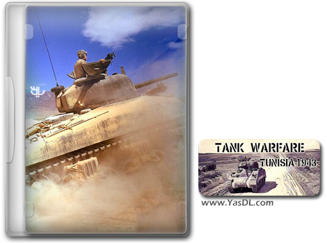 دانلود بازی Tank Warfare Tunisia 1943 برای PC