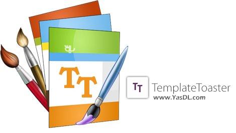 دانلود TemplateToaster 6.0.0.11509 + Portable - نرم افزار طراحی قالب وب سایت