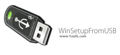 دانلود WinSetupFromUSB 1.8 - نصب ویندوز از طریق فلش مموری