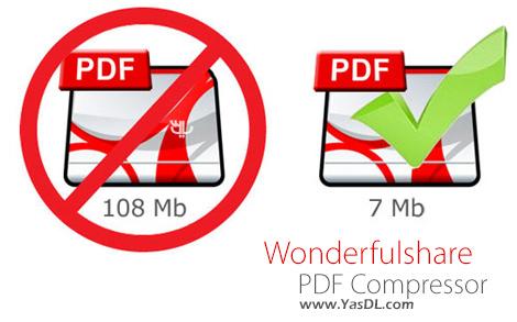 دانلود Wonderfulshare PDF Compressor 3.1.1.1 + Portable - فشرده سازی اسناد PDF