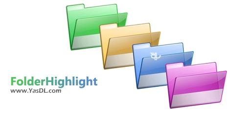 دانلود eRiverSoft FolderHighlight 2.6.6 - نرم افزار تغییر رنگ فولدرها در ویندوز