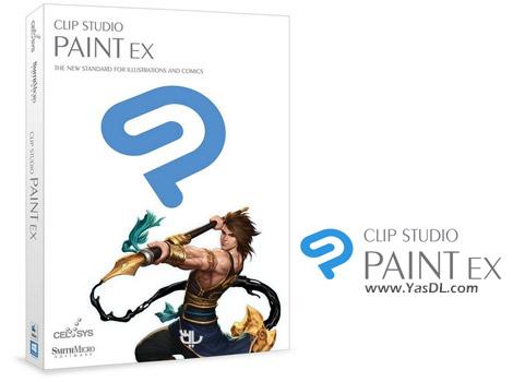 دانلود Clip Studio Paint EX 1.6.6 + Materials - نرم افزار نقاشی داستان های مصور