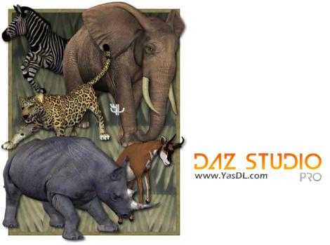 دانلود DAZ Studio Pro 4.9.4.115 x86/x64 - نرم افزار طراحی 3 بعدی و انیمیشن سازی
