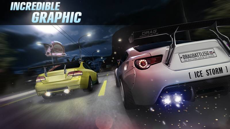 Drag Battle Racing 3.21.10 Car Racing For Android + Infinity Edition