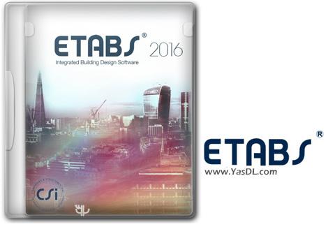 دانلود CSI ETABS 2016 16.2.1 Build 1727 x86/x64 - نرم افزار طراحی و تحلیل سازه های مهندسی