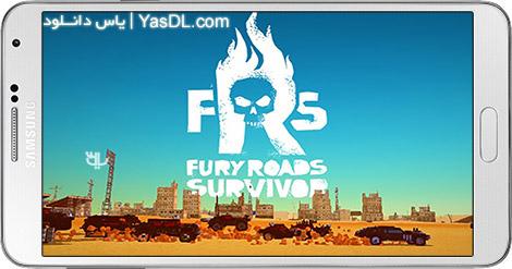 دانلود بازی Fury Roads Survivor 1.9.2 - بازمانده جاده های خشم برای اندروید + پول بی نهایت