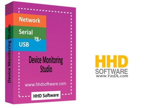 دانلود HHD Device Monitoring Studio Ultimate 8.35.00.9398 - نرم افزار نظارت پورت ها و اتصالات سیستم