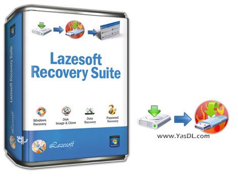 دانلود Lazesoft Recovery Suite Professional 4.5.1 - مجموعه ابزار بازیابی سیستم