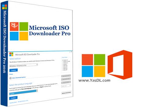 دانلود Microsoft ISO Downloader Pro 1.7 - دریافت نسخه های اورجینال ویندوز و آفیس