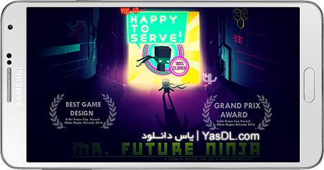 دانلود بازی Mr Future Ninja 1.65 - نینجای آینده برای اندروید