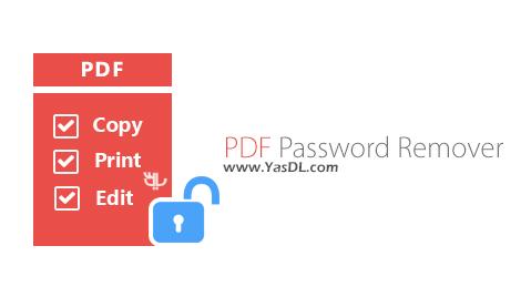 دانلود PDF Password Remover 1.6.0 + Portable - نرم افزار حذف پسورد فایل های PDF