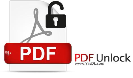 دانلود PDF Unlock 1.0 + Portable - حذف پسورد فایل های PDF