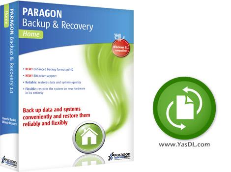 دانلود Paragon Backup & Recovery 16 10.2.1 - نرم افزار پشتیبان گیری از اطلاعات