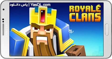 دانلود بازی Royale Clans – Clash of Wars 4.10 - رویال کلنز برای اندروید + پول بی نهایت