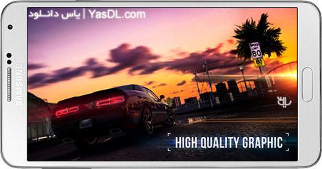 دانلود بازی SR Racing 1.161 - اتومبیل رانی خیابانی برای اندروید + دیتا + پول بی نهایت
