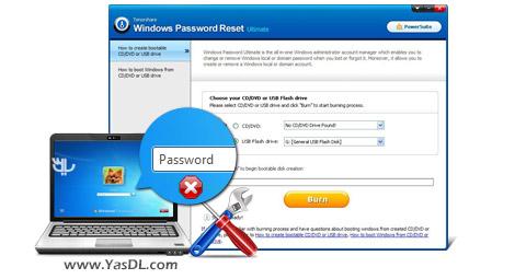 دانلود Tenorshare Windows Password Recovery Tool Professional 6.4.3.0 + Portable - بازیابی رمز ویندوز
