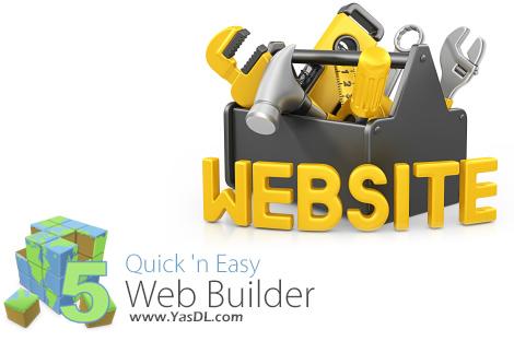 دانلود Quick 'n Easy Web Builder 5.0.1 + Extensions - نرم افزار طراحی وب