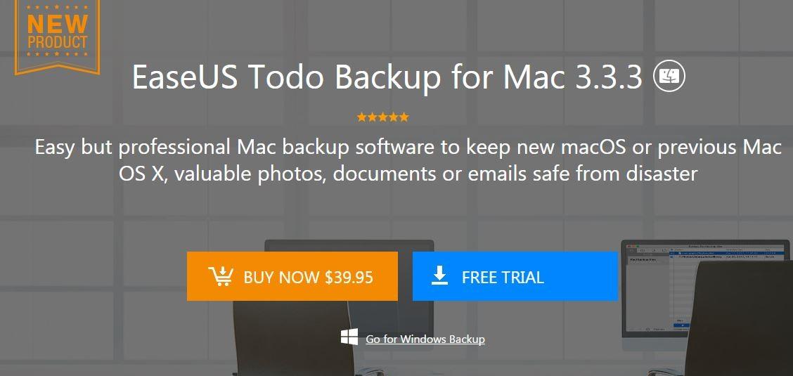 معرفی نرم افزار بکاپ گیری از سیستم عامل مک EaseUS Todo Backup for Mac