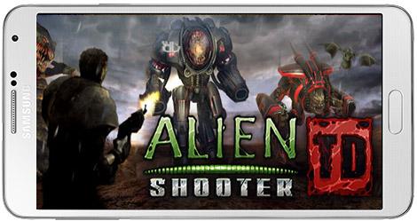 دانلود بازی Alien Shooter برای آندروید + نسخه مود شده