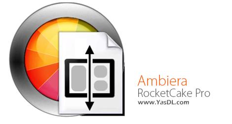 دانلود Ambiera RocketCake Professional 1.5 + Portable - نرم افزار طراحی صفحات وب