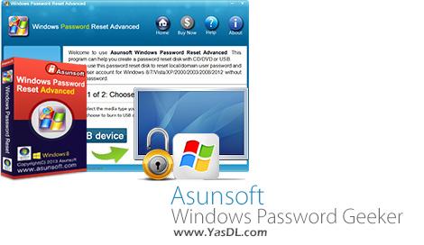 دانلود Asunsoft Windows Password Geeker Advanced 4.1 - بازیابی پسورد ویندوز