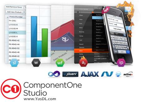دانلود ComponentOne Studio Ultimate 2017.1.1.16 - مجموعه کامپوننت های برنامه نویسی