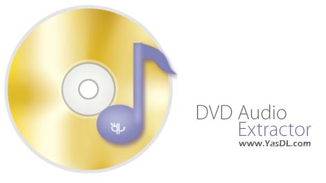 دانلود DVD Audio Extractor 8.2 + Portable - استخراج فایل های صوتی از دیسک های DVD
