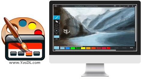 دانلود Freehand Painter 0.93 + Portable - نرم افزار نقاشی حرفه ای